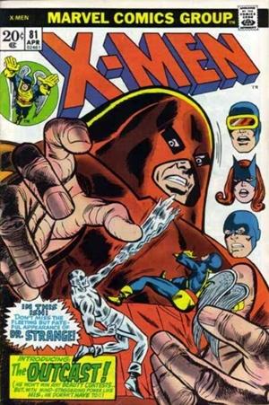 Couverture de Uncanny X-Men (The) (Marvel comics - 1963) -81- Into the crimson cosmos