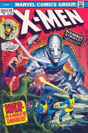 Couverture de Uncanny X-Men (The) (Marvel comics - 1963) -82- War... in a world of darkness