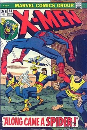 Couverture de Uncanny X-Men (The) (Marvel comics - 1963) -83- Along came a spider