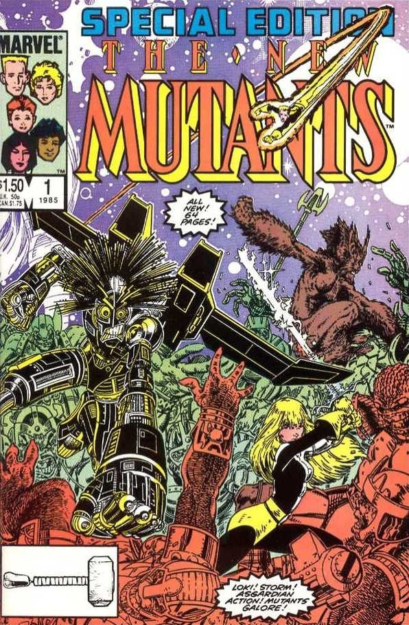 Couverture de New Mutants (The) (1983) -SE1- Home is where the heart Is