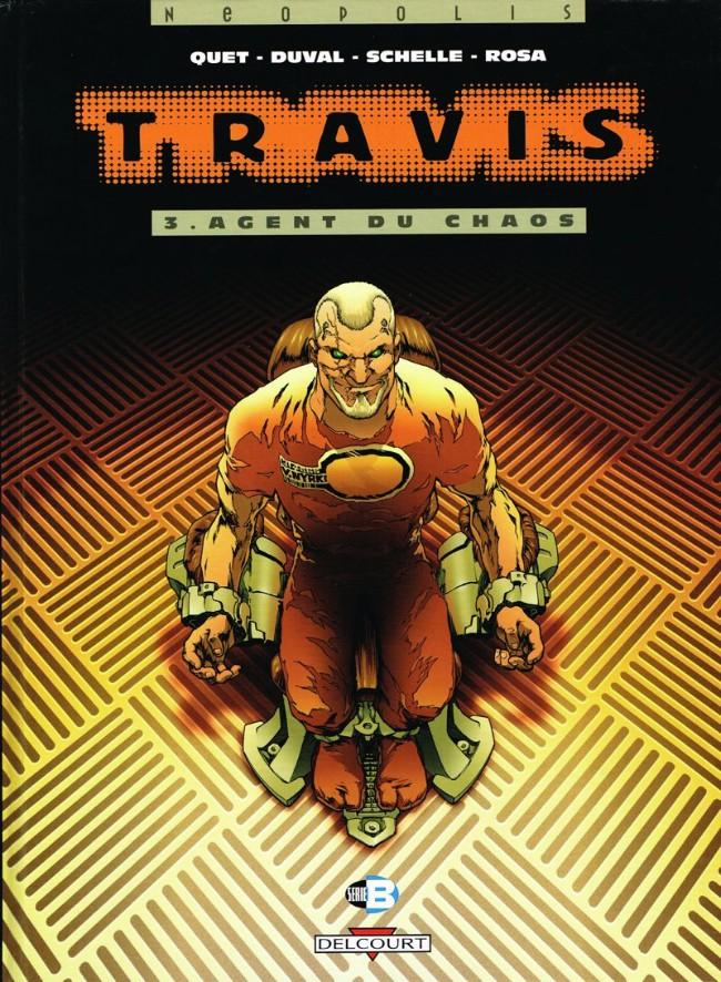 Couverture de Travis -3- Agent du chaos
