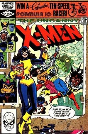 Couverture de Uncanny X-Men (The) (1963) -153- Kitty's fairy tale