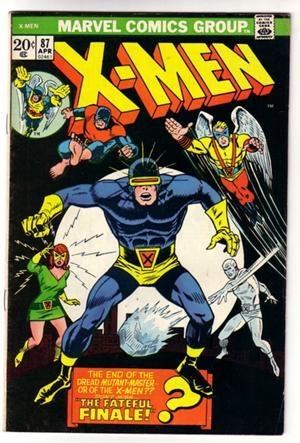 Couverture de Uncanny X-Men (The) (Marvel comics - 1963) -87- Fateful finale (The)