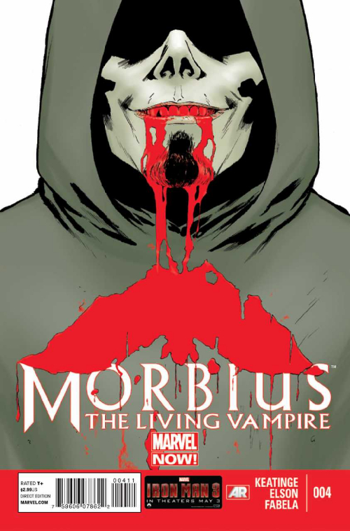 Couverture de Morbius, The Living Vampire (2013) -4- Morbius, The Living Vampire 4