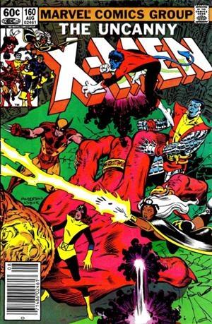 Couverture de Uncanny X-Men (The) (1963) -160- Chutes and ladders