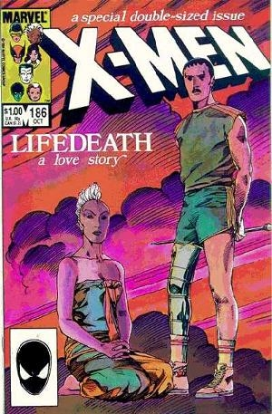 Couverture de Uncanny X-Men (The) (Marvel comics - 1963) -186- Lifedeath