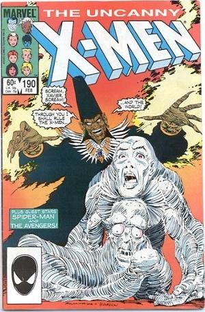 Couverture de Uncanny X-Men (The) (Marvel comics - 1963) -190- An age undreamed of