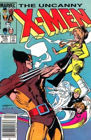 Couverture de Uncanny X-Men (The) (1963) -195- It was a dark and stormy night