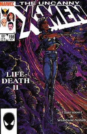 Couverture de Uncanny X-Men (The) (1963) -198- Lifedeath : from the heart of darkness