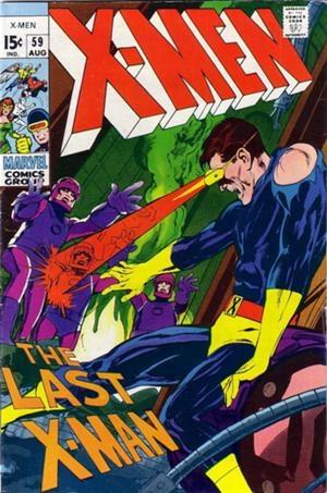 Couverture de Uncanny X-Men (The) (Marvel comics - 1963) -59- Do or die, baby