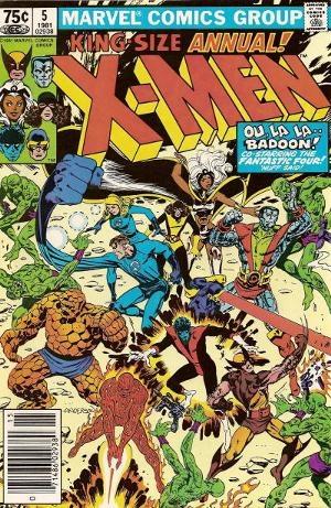 Couverture de Uncanny X-Men (The) (Marvel comics - 1963) -AN05- Ou, la la badoon