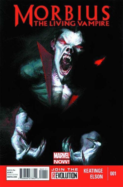 Couverture de Morbius, The Living Vampire (2013) -1- Midnight Son