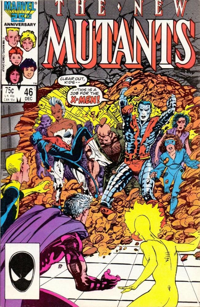 Couverture de New Mutants (The) (1983) -46- Bloody sunday