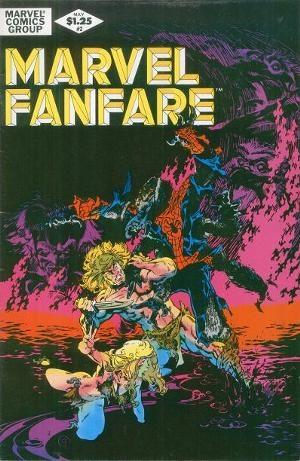 Couverture de Marvel Fanfare (1982) -2- To sacrifice my soul
