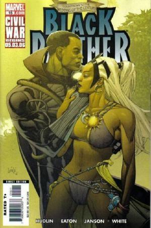 Couverture de Black Panther Vol.4 (Marvel - 2005) -15- Bride of the Panther part 2
