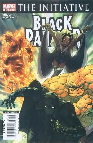 Couverture de Black Panther Vol.4 (Marvel - 2005) -26- Two plus two part 1: home invasion