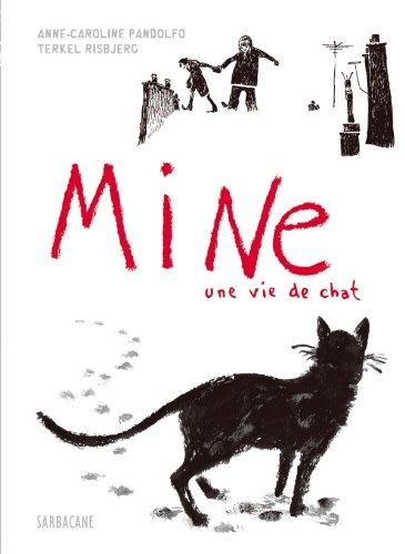 Couverture de Mine, une vie de chat