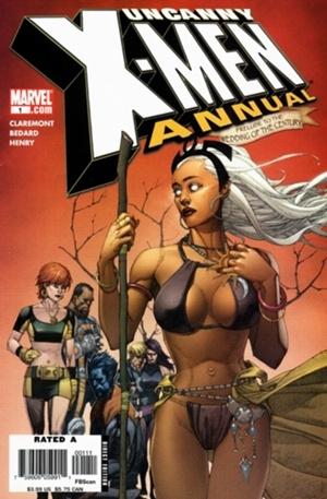 Couverture de Uncanny X-Men (The) (Marvel comics - 1963) -AN2006- Annual 1 : Dream of Africa