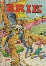 Couverture de Brik (Mon journal) -94- Le faucon des mers