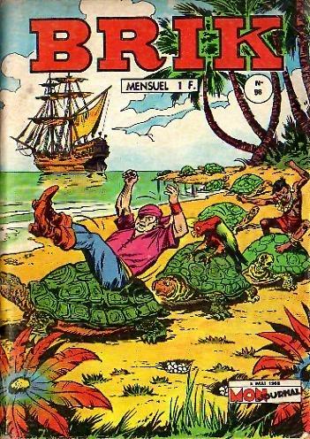 Couverture de Brik (Mon journal) -98- L'île aux oiseaux