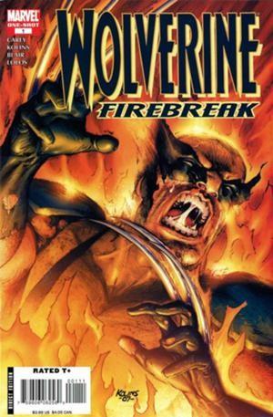 Couverture de Wolverine: Firebreak (2008) - Firebreak