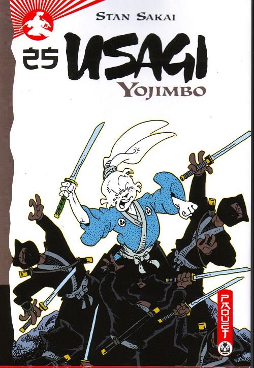 Couverture de Usagi Yojimbo -25- Volume 25