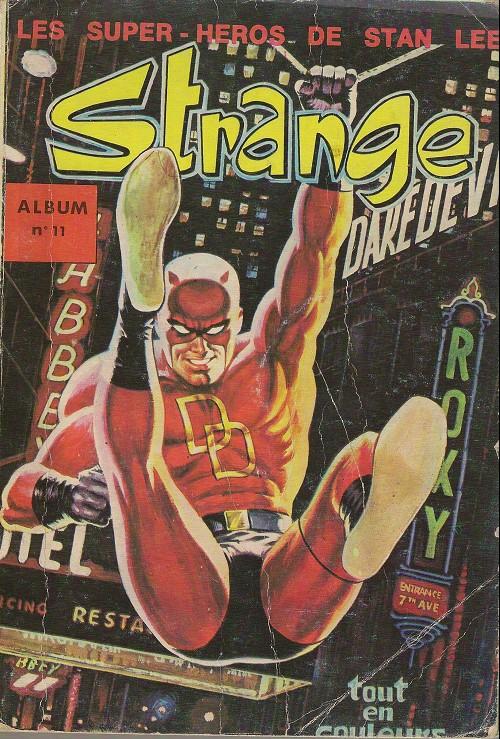Couverture de Strange -Rec011- Album N°11 (du n°32 au n°34)