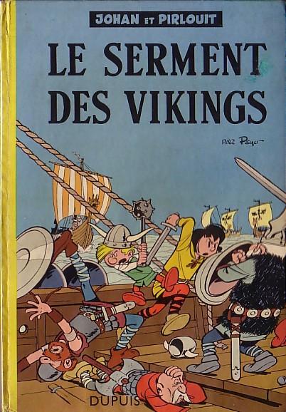 Couverture de Johan et Pirlouit -5- Le serment des vikings