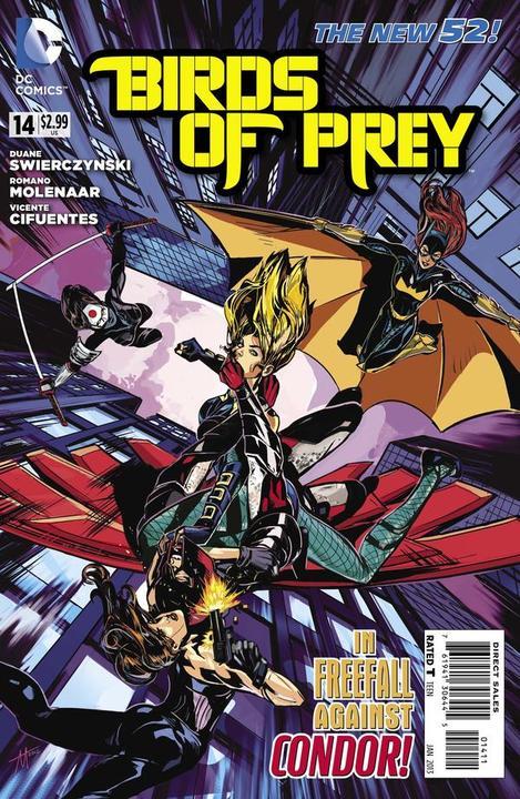 Couverture de Birds of Prey (2011) -14- Three Hours of the Condor