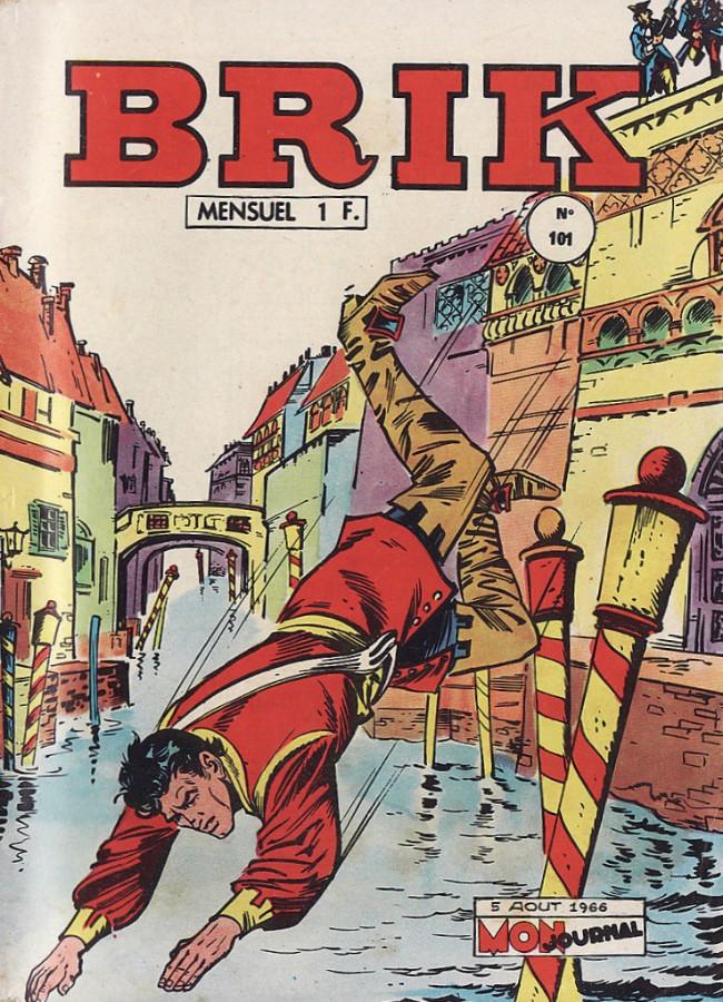 Couverture de Brik (Mon journal) -101- Œil pour œil