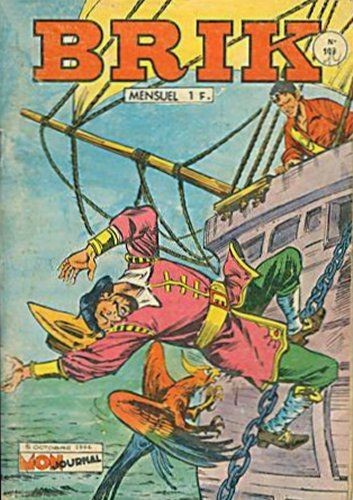 Couverture de Brik (Mon journal) -103- Les pirates de la Baie d'Hudson