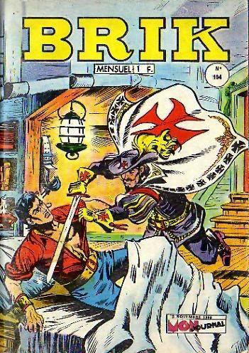 Couverture de Brik (Mon journal) -104- Mambo le magicien