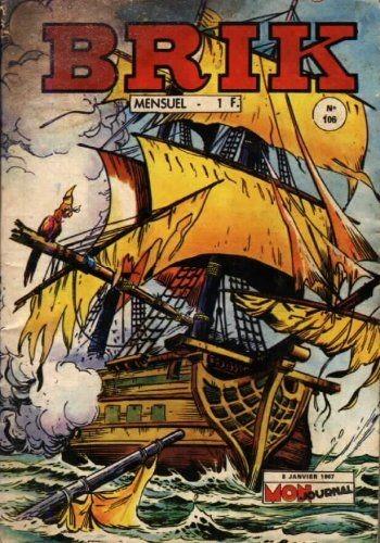 Couverture de Brik (Mon journal) -106- Le pirate maudit
