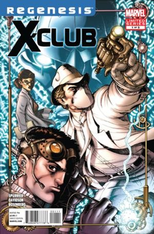 Couverture de X-Club (2012) -1- We do science