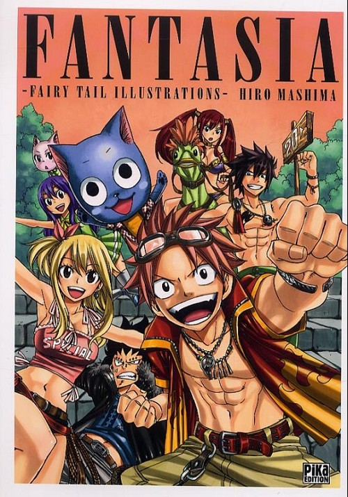 Couverture de Fairy Tail -HS- Fantasia