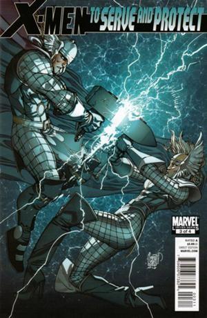 Couverture de X-Men: To Serve And Protect (2011) -3- X-Dudes
