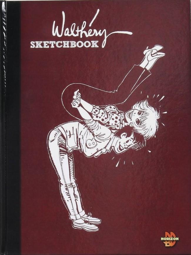 Couverture de (AUT) Walthéry -41TL- Walthéry Sketchbook