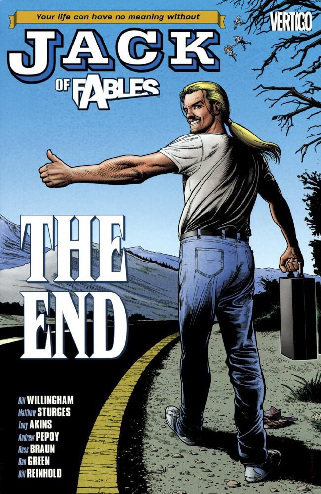 Couverture de Jack of Fables (2006) -INT09- The End