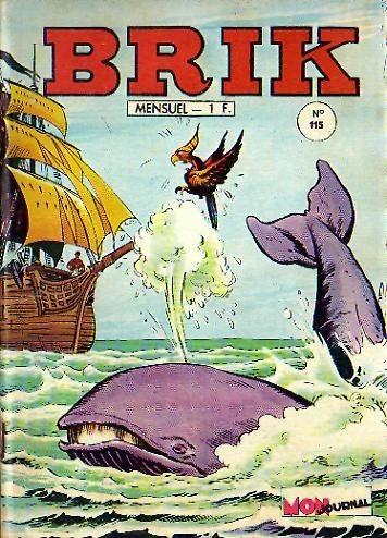 Couverture de Brik (Mon journal) -115- L'océan d'or