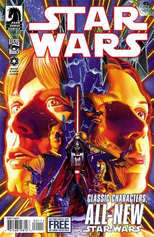 Couverture de Star Wars (2013) -1- In the shadow of Yavin part 1