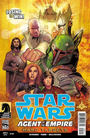 Couverture de Star Wars: Agent of the Empire - Hard Targets (2012) -5- Hard targets part 5