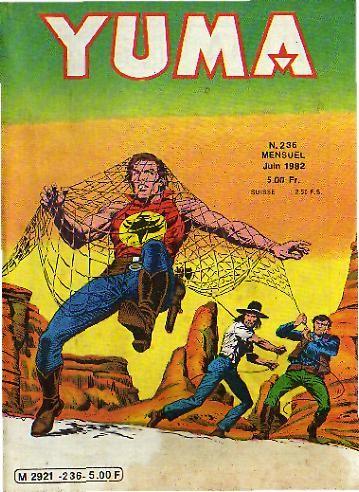 Couverture de Yuma (1re série) -236- Ultor L'ange Vengeur