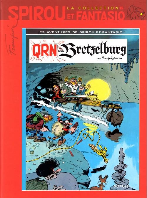 Couverture de Spirou et Fantasio - La collection (Cobra) -15- Qrn sur bretzelburg