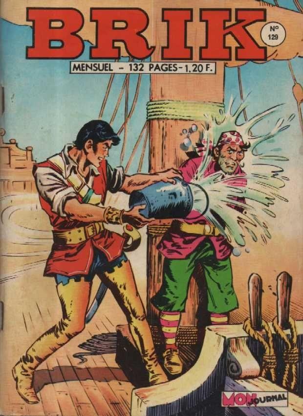 Couverture de Brik (Mon journal) -129- Retour à la Tortue