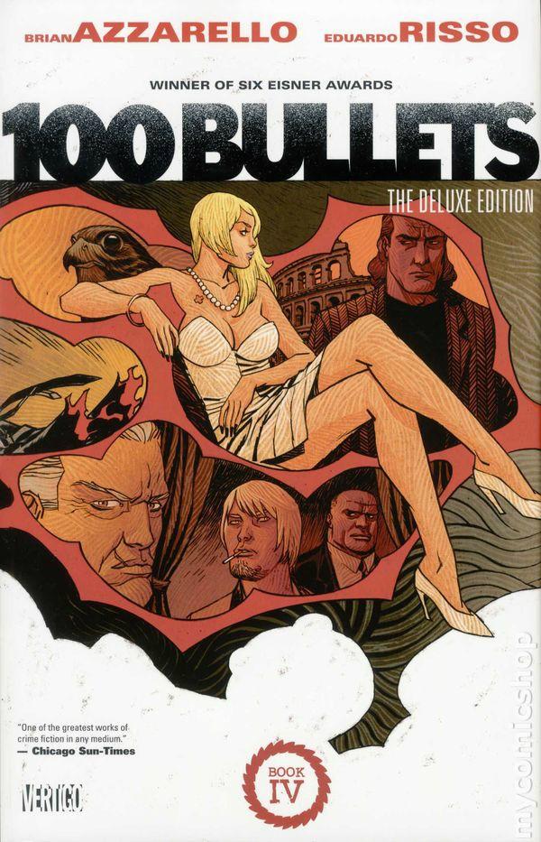 Couverture de 100 Bullets (1999) -INTHC4- The Deluxe Edition: Book 4