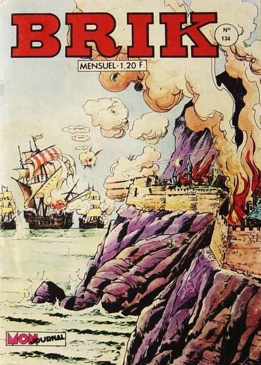 Couverture de Brik (Mon journal) -134- Mission royale
