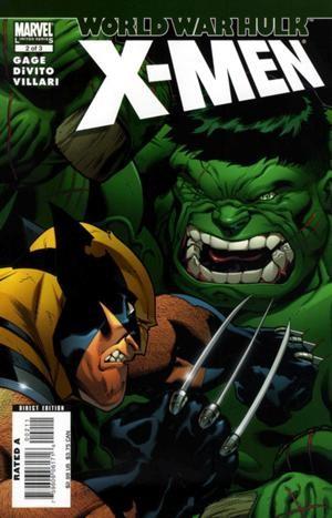Couverture de World War Hulk: X-Men (2007) -2- Sworn to protect