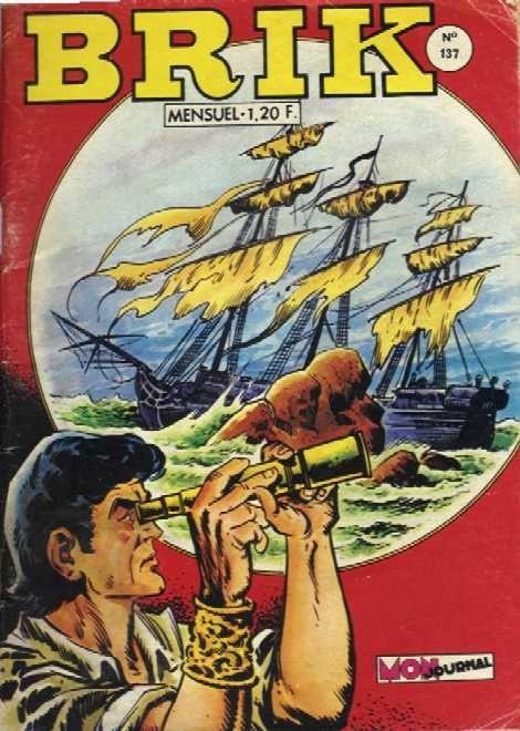 Couverture de Brik (Mon journal) -137- Dans les eaux de la Vera-Cruz