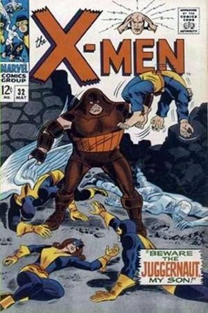Couverture de Uncanny X-Men (The) (1963) -32- Beware the Juggernaut, my son