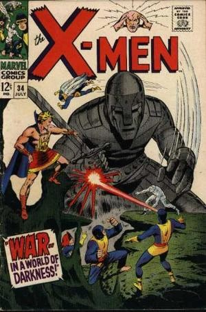 Couverture de Uncanny X-Men (The) (Marvel comics - 1963) -34- War in a world of darkness